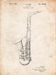 Conn a Melody Saxophone Patent by Cole Borders