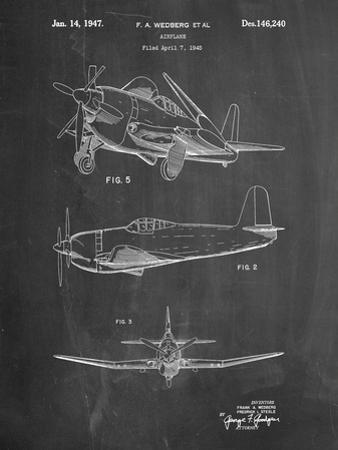Contra Propeller Low Wing Airplane Patent by Cole Borders