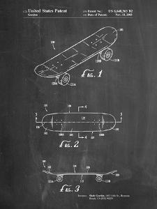 Double Kick Skateboard Patent by Cole Borders