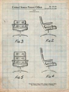 Eames Upholstered Chair Patent by Cole Borders