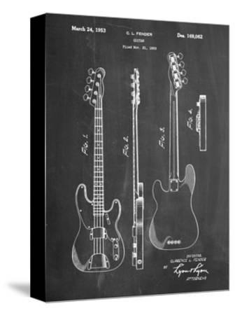 Fender Precision Bass Guitar Patent