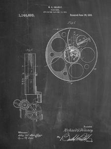 Film Reel 1915 Patent by Cole Borders