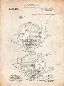 French Horn Instrument Patent by Cole Borders