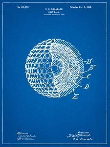 Golf Ball 1902 Patent by Cole Borders