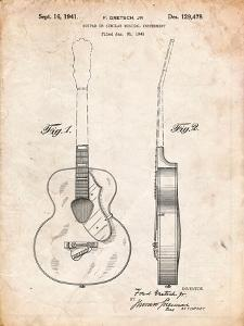 Gretsch 6022 Rancher Guitar Patent by Cole Borders