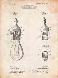 Incandescent Lamp Socket Patent by Cole Borders