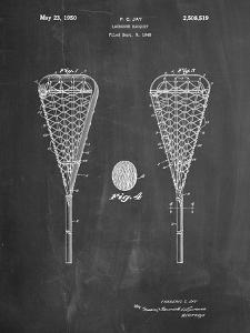 Lacrosse Stick 1948 Patent by Cole Borders