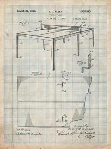 Ping Pong Table Patent by Cole Borders