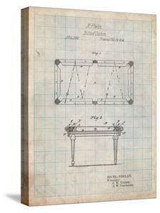 Pool Table Patent by Cole Borders