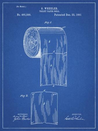PP53-Blueprint Toilet Paper Patent