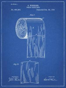 PP53-Blueprint Toilet Paper Patent by Cole Borders