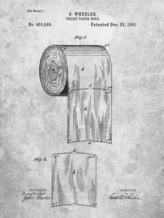 PP53-Slate Toilet Paper Patent