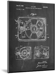 Record Player Patent by Cole Borders