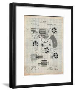 Blueprints artwork for sale framed art and prints at art revolver firearm patent malvernweather Images