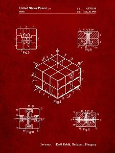 Rubik's Cube Patent by Cole Borders