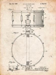Snare Drum Instrument Patent by Cole Borders