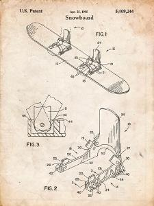 Snowboard Patent by Cole Borders