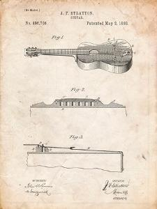 Stratton and Son Acoustic Guitar Patent by Cole Borders
