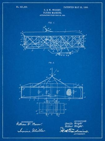 Wright Brother's Aeroplane Patent by Cole Borders