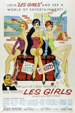 """Cole Porter's Les Girls, 1957, """"Les Girls"""" Directed by George Cukor"""