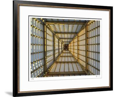 Coleman Pavillion Sunrise-John Gynell-Framed Giclee Print
