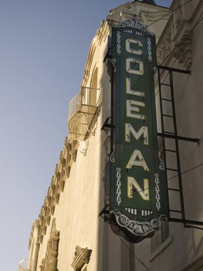 Coleman Theatre, Miami, Oklahoma, United States of America, North America-Snell Michael-Photographic Print