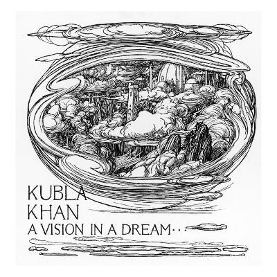 Coleridge - Kubla Khan--Giclee Print