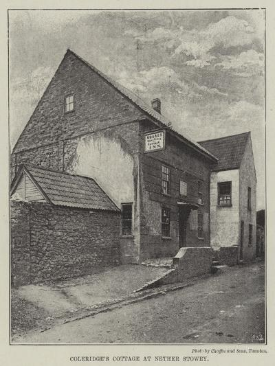 Coleridge's Cottage at Nether Stowey--Giclee Print