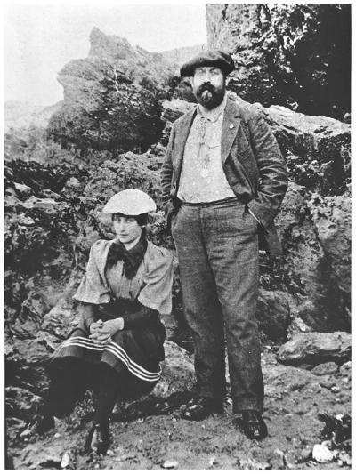 Colette and Willy at Belle-Ile, Summer 1894--Giclee Print