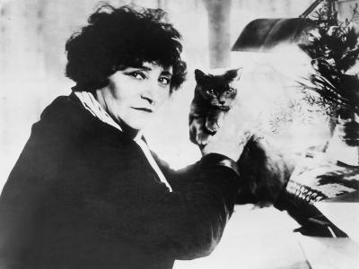 Colette as the Most Honored Female French Writer of the First Half of 20th Century--Photo
