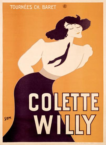 Colette Willy- Semenov-Giclee Print
