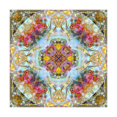 Coleur Rozal Mandala VII-Alaya Gadeh-Art Print