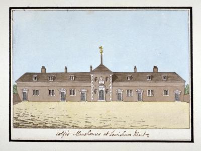 Colfe's Almshouses in Lewisham, London, C1795--Giclee Print