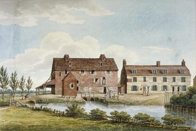 Colham Mills, Hillingdon, Middlesex, C1820--Giclee Print