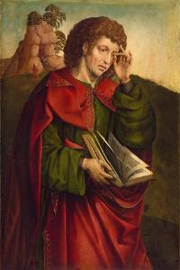 Saint John the Evangelist Weeping, C. 1500 by Colijn de Coter