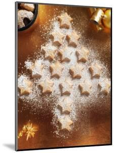 Christmas Cookies Arranged into Tree Shape by Colin Anderson