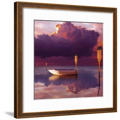 Cumulus Cloud, Rowboat, and Paddles