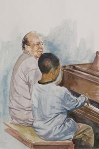 The Piano Lesson, 2003 by Colin Bootman
