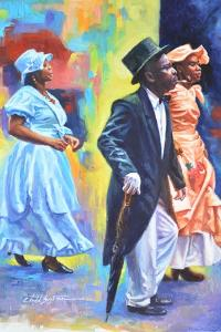Wedding Party  2017  (oil on board) by Colin Bootman