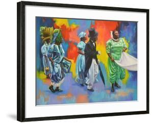 Wedding Procession  2017  (oil on board) by Colin Bootman