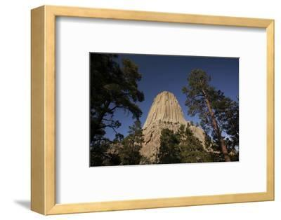 Devils Tower, Devils Tower National Monument, Wyoming, United States of America, North America