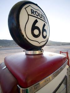 Gas Pump, Historic Route 66, Arizona, United States of America, North America by Colin Brynn