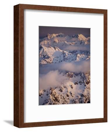 Olympic Mountain Range, Olympic National Park, UNESCO World Heritage Site, Washington State, USA