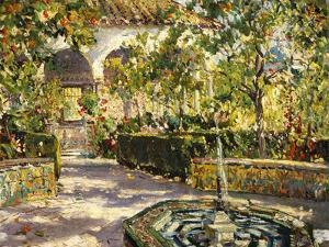 Alcazar Gardens, Seville by Colin Campbell Cooper