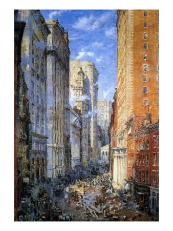 Broad Street, New York, C.1904