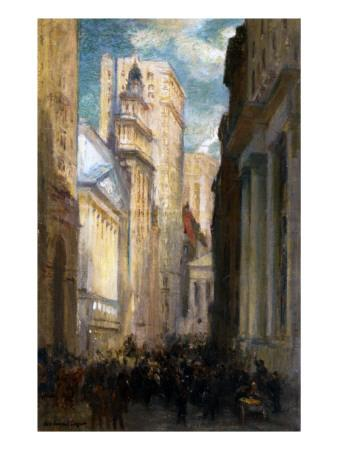 Wall Street, New York, C.1905