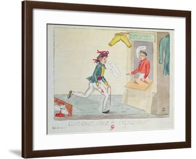 Colin Court at the Stain Removers, 1814--Framed Giclee Print
