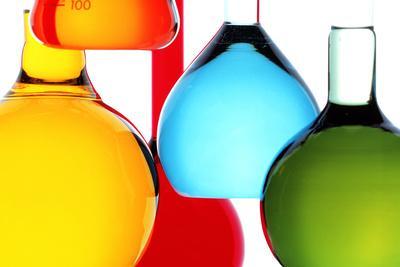 Assortment of Laboratory Glassware Flasks