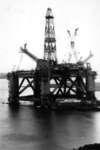 Oil Rigs by Colin Davey