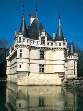 Chateau Azey Le Rideau, Loire, France (1518 - 1527)